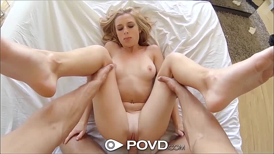 Junge Blondine Pov Blowjob